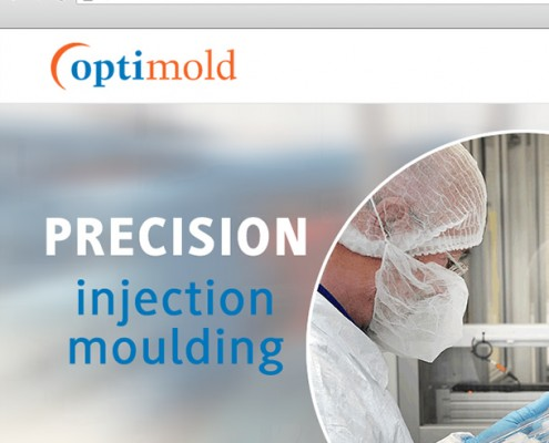 wordpress web design optimold injection molding