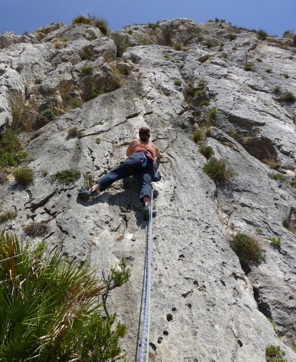 Toix, Costa Blanca, Anne-Marie, Orangebox, web designer, rock climbing in Spain