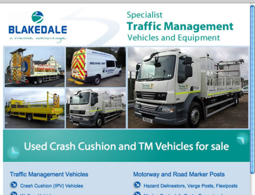 Blakedale Traffic Management Web Design