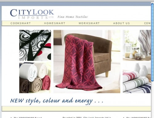 City Look Imports Web Design