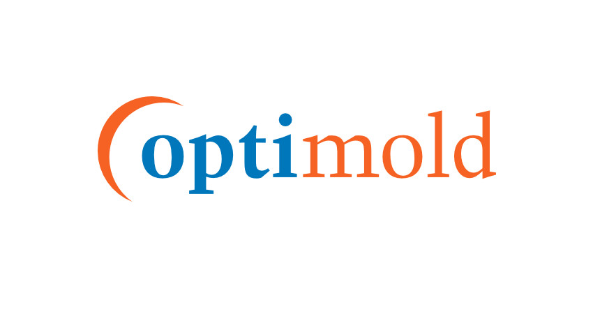optimold, injection-moulding, production-molding, micro-engineering, Logo Design