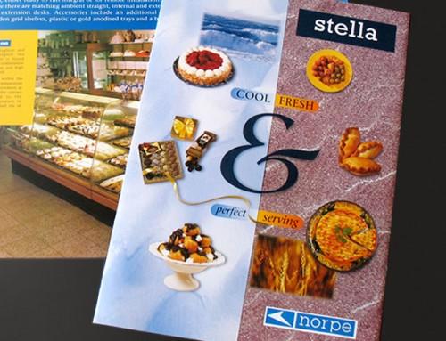 Norpe Stella Cabinets Brochure, Print Design
