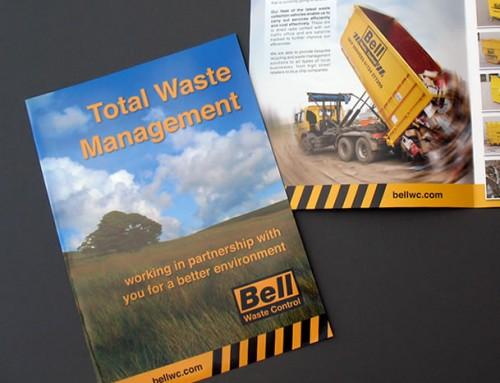 Bell Waste Control Brochure, Print Design