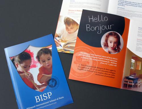 BISP School Prospectus Brochure, Print Design