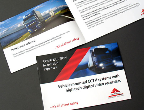 Fleet Sentinel Brochure Print Design