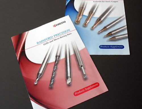 Rainford Precision Product Brochure Supplements Print Design