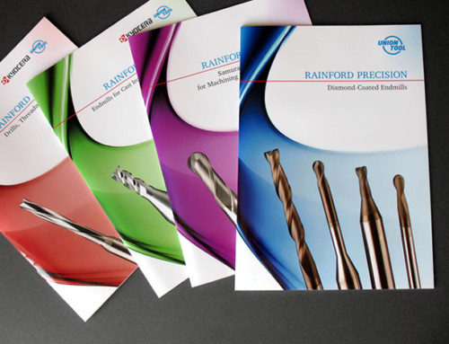 Rainford Precision 4 Product Brochures Print Design and Artwork