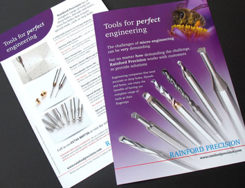 Rainford Precision Leaflet Print Design
