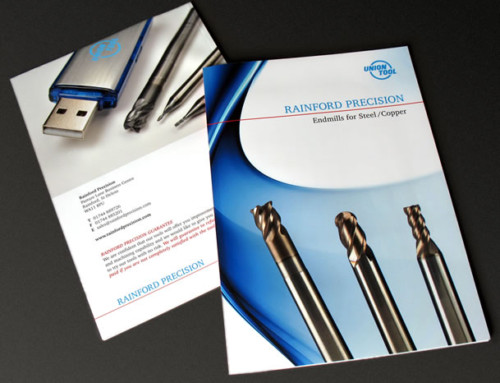 Rainford Precision Product Catalogue Brochure Print Design