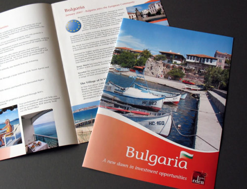 Bulgaria Property Brochure, Print Design by Orangebox