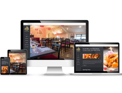 Restaurant WordPress Web Design, Mobile Friendly, Little Hong Kong, Chorley