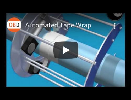 Automated Tape Wrap, Web Video, Technical Illustration, 3d Animation, Engineering, PIP | Orangebox Digital, Lancs