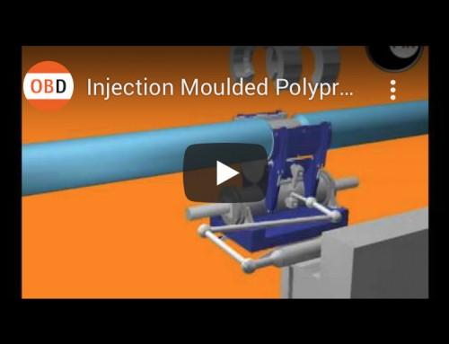 Injection Moulded Polypropylene Field Joint, Web Video, Technical Illustration, 3d Animation, Engineering | Orangebox Digital, Lancs