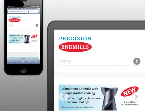 Precision Endmills Responsive Web Design, Landing Page, Mini-website