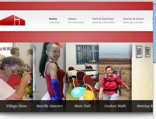 Brindle Community Hall Web Design