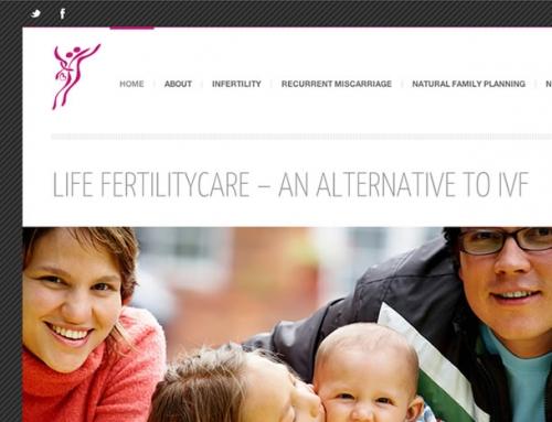 Life FertilityCare Web Design