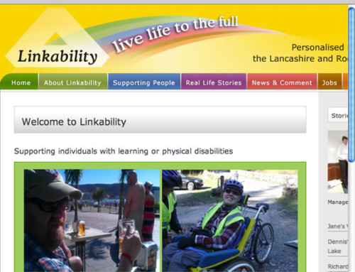 Linkability Charity Web Design