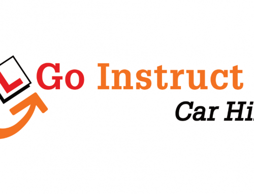 Go Instruct Car Hire, Logo Design, Branding | Orangebox Digital, Lancs, UK