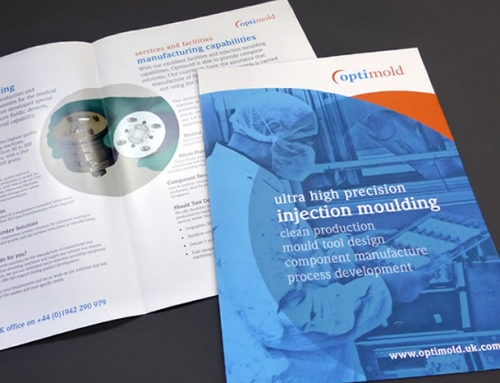 Optimold Brochure Print Design