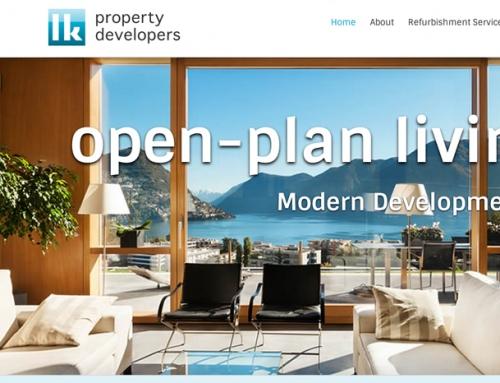 LK Property Developers WordPress Web Design