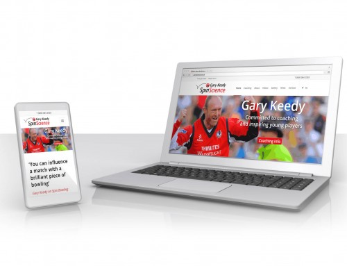 Gary Keedy SpinScience WordPress Web Design