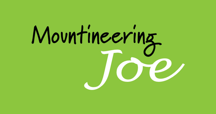 Mountaineering Joe, branding, web logo design for company based in Wales