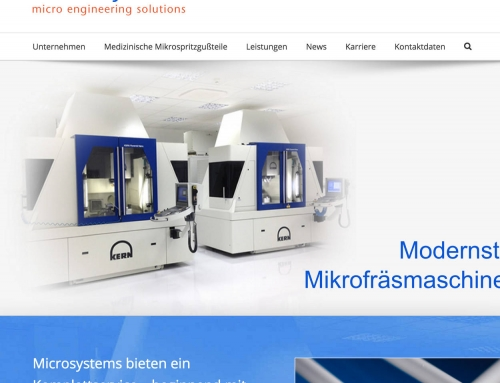 Microsystems Austria, Micro Engineering, German Language WordPress Web Design