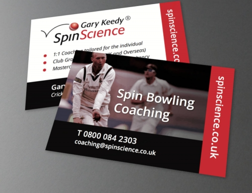 Gary Keedy SpinScience, Business Cards, Print Design