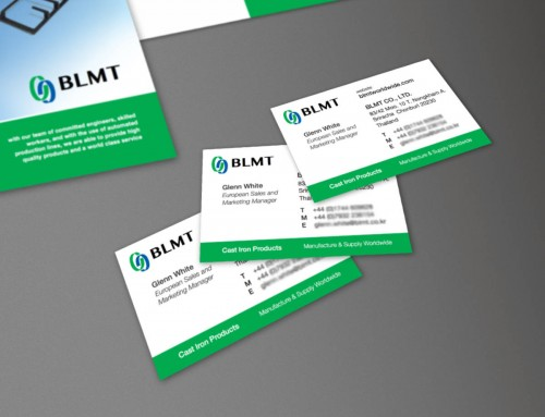 BLMT Business Card | Print, Brand Development, Branding, Graphic Design | Orangebox Digital, Lancs, NW