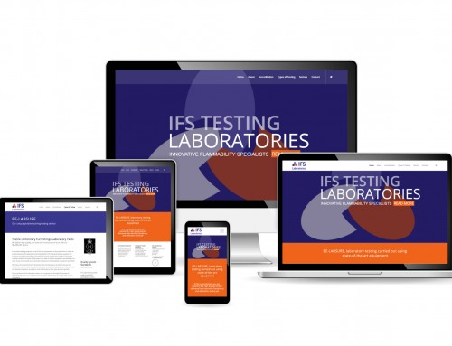 IFS Laboratories, Lab Testing for Textile Industries, Manchester, web design | Orangebox Digital, Lancs