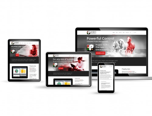 Project Toolkit  iPad App website, WordPress web design | Orangebox Digital, Lancs