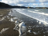 Autumn, Beach, Morfa Nefyn, Llyn Peninsula, North Wales, 2018, Orangebox Digital, Lancs, UK