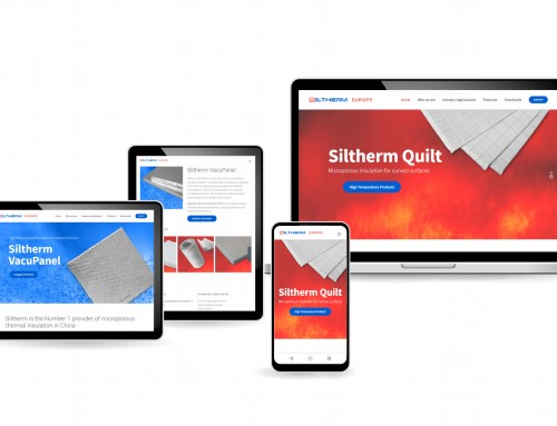 Siltherm Europe Web Design, WordPress Website, Brand Development Project, Orangebox Digital, Lancashire, NW