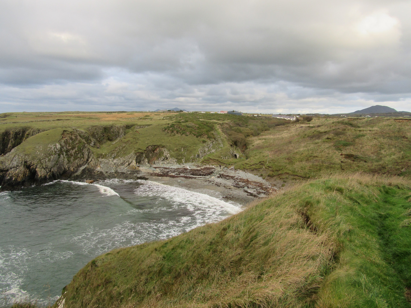 Tudweiliog Porth Ychain, Coastal Path, Walk, North Wales, Oct 2019