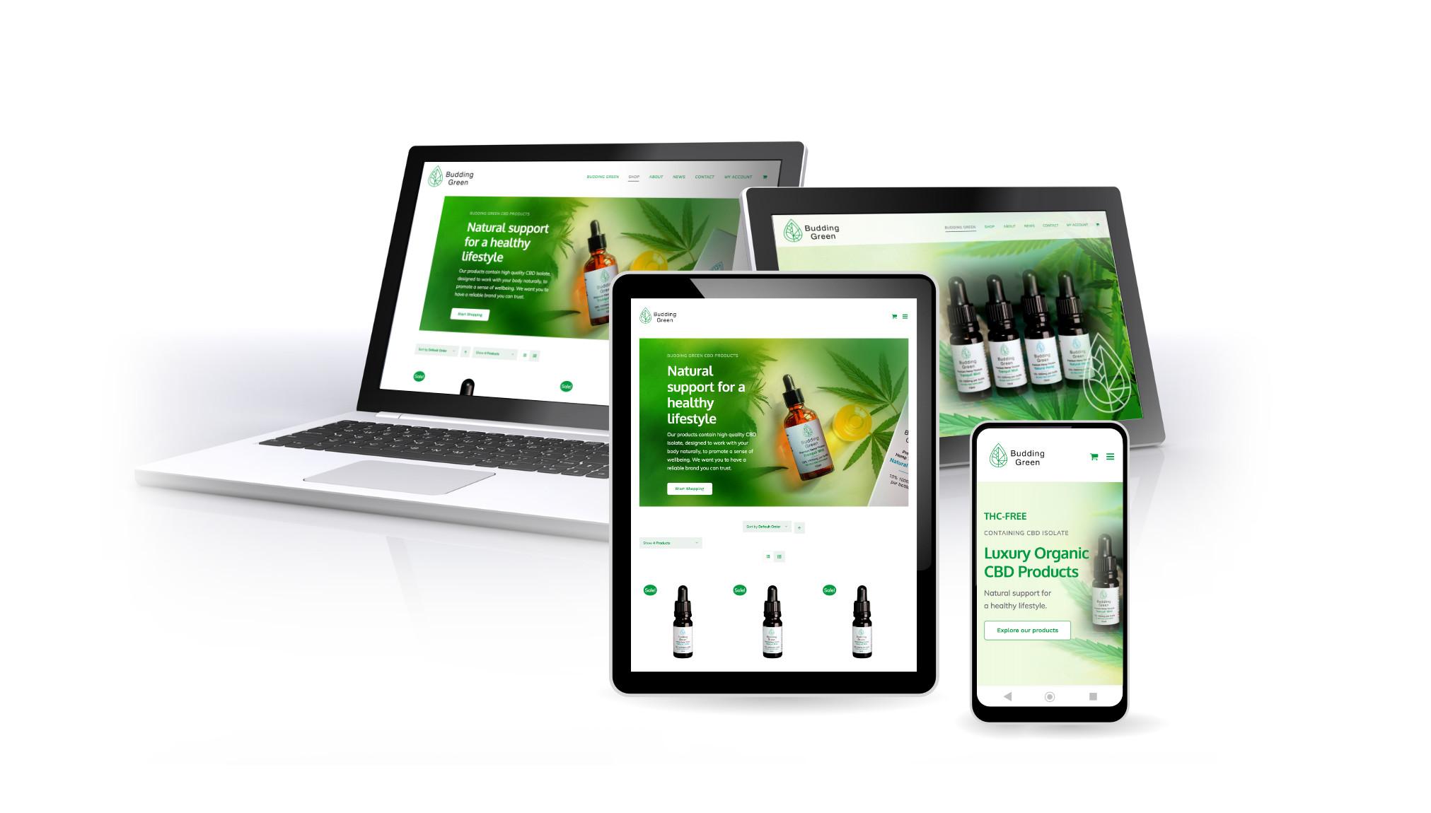Oak Carpentry Lancs, Website Design by Orangebox