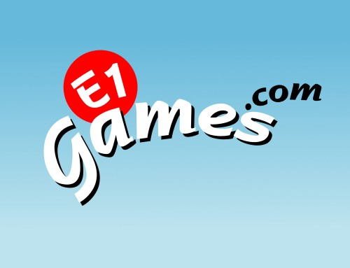 E1Games.com Logo Design and Branding Project | Orangebox Digital, Lancs