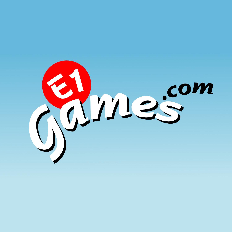 E1Games.com, Logo Design by Orangebox Digital, Lancs
