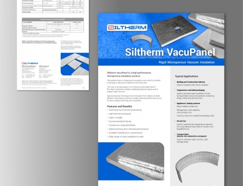 Siltherm VacuPanel, Product Data Sheet, PDF, Print Design | Orangebox Digital, Lancs